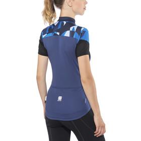 Sportful Primavera Jersey Women blue twilight/electric blue